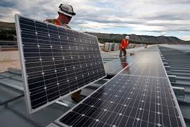various disadvantages of solar energy conserve energy future solar panels installation workers