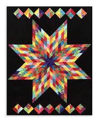 Rainbow Lone Star Quilt – Jordan Fabrics