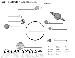 Solar System Chart Worksheet Coloring Book Solarm Coloring Pages Free Printable For