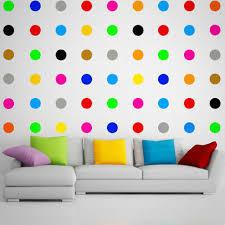 12x large polka dot wall vinyl decal