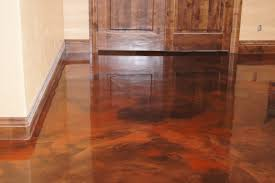 Flooring  Surprising Flooring Over Concrete Options Images - Wet basement floor ideas