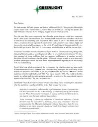 Greenlight Capitals David Einhorn Q2 2018 Letter Greenlight