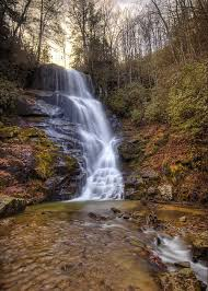 Eastatoe Falls Photograph by Walter Arnold