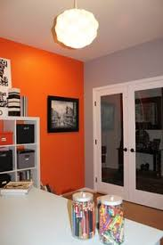 office orange. We Have Leftover Orange Paint?? Maybe, For An Accent Wall? Office A