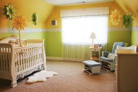 how to arrange nursery furniture. Baby Nursery With Yellow Green Wall Colors : Arranging Furniture How To Arrange