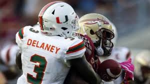Dee Delaney Remains Atop Miami Depth Chart At Cb For