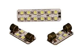 F150 Led Dome Lights Putco 980024 Premium Led Dome Light Kit For Ford F150