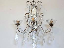 crystal candle wall sconces shabby chic candle wall sconces wall sconce macaroni manufacturing crystal candle wall