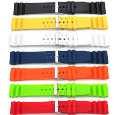 watch parts suppliers watch spares watch accessories timebymail mens ladies divers watch strap for seiko citizen sport pu rubber waterproof band