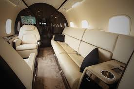 larger cabin windows provide 19 more ambient light standard configuration is double club seats a three place divan that replaced a pair of facing chairs