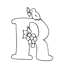 Letter A For Toddlers Coloring Pages R A The F For Toddlers Toddler