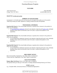Examples Of Combination Resumes Sample Combination Resume format Unique Bination Resume Samples 60 36
