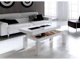 Charming Image Of: Modern Adjustable Height Coffee Table