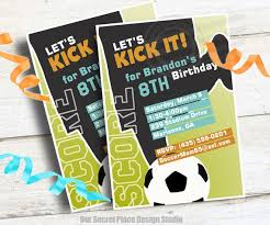 Soccer Party Invite Soccer Birthday Party Invitations For Boys Soccer Party Invitation Soccer Invitation Soccer Invites Boys Sports Invitations For Boys