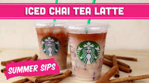 iced chai tea latte diy starbucks summer sips in sixty seconds mind over munch you