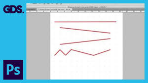 How to make dotted lines in adobe photoshop. Draw Straight Lines In Adobe Photoshop Youtube