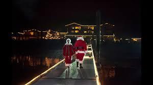 Alderbrook Lights Annual Tree Lighting Ceremony At Alderbrook Resort Spa