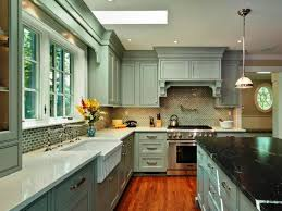 Backsplashes For Kitchens With Granite Countertops Classy Blue Kitchen Cabinets 48 Most Skoohoney Oak With Granite Countertops
