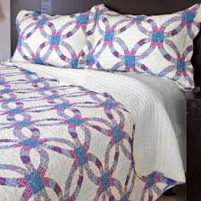Somerset Home Wedding Ring Quilt Bedding Set - Walmart.com &  Adamdwight.com