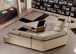 modern leather sofa. Modern Leather Sofa With Coffee Table VG646