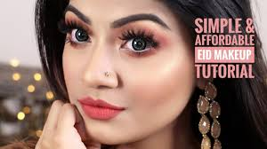 affordable eid makeup tutorial simple and easy eid daytime makeup look 2018 linda