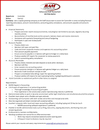 Account Receivable Resume Sample Sample Of Accounts Payable