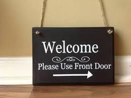 Custom Front Door Signs   Arts - Arts