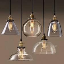 hanging lighting ideas. vintage industrial filament clear glass brass chrome pendant lamp hanging light lighting ideas n