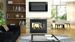 regency two sided gas fireplace 2 indoor outdoor