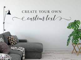 design your own removable wall stickers