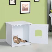 concealed litter box furniture. Cat Box Table Corner Litter Cabinet Where To Put A In Small House Concealed Furniture