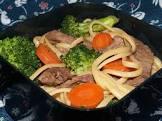 asian beef noodle bowl  kraft