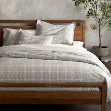 taza grey duvet covers and pillow shams crate and barrel 103