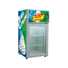 countertop freezer merchandiser for frozen goods