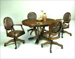 dining table and chairs with casters dining chairs with casters dining chair with casters chair on