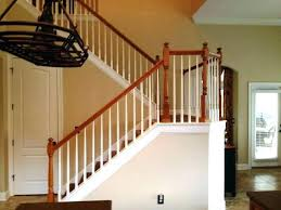 Image Painted Indoor Stair Railing Height Home Decoration Indoor Stair Railing Height Home Decoration Latest Forms And
