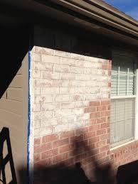 How To Whitewash Brick Stunning Whitewashing Exterior Brick Contemporary Interior