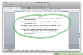 how to write a research paper sample research papers  image titled write a research paper step 3