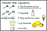 recipe cards for kids. Unique Cards DLTKu0027s Crafts For Kids Chocolate Soda Recipe In Cards For R