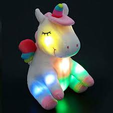 Light Up Stuffed Unicorn Details About Athoinsu Light Up Stuffed Unicorn Soft Plush Toy With Colorful Led Night Lights