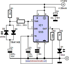extreme circuits s electrical engineering blog eeweb community bluish flasher circuit diagram