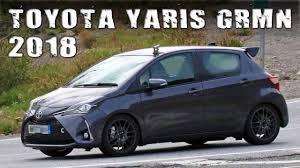 2018 toyota yaris grmn. wonderful yaris allnew 2018 toypta yaris grmn 5door hot hatch prototype with toyota yaris grmn r