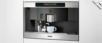 Built-In Nespresso Coffee System