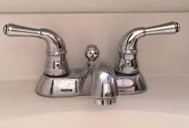How To Replace A Two Handle Bathroom Sink Faucet