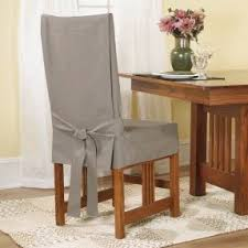 dining chair covers. Cotton Duck Shorty Dining Chair Slipcover Covers M