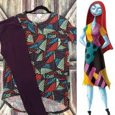 Nightmare Before Christmas Sally Inspired LuLaRoe outfit by ...