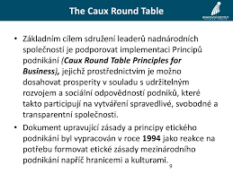 caux round table research