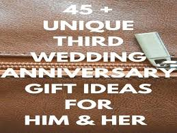 3 anniversary gifts for her leather wedding best third gift ideas on good year him 3 anniversary gifts for