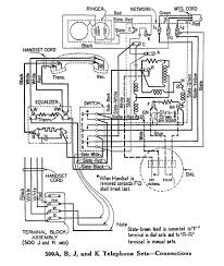 cool old telephone wiring diagrams images electrical circuit