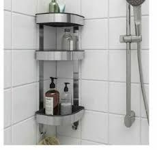 shower rack stainless steel 3 tier